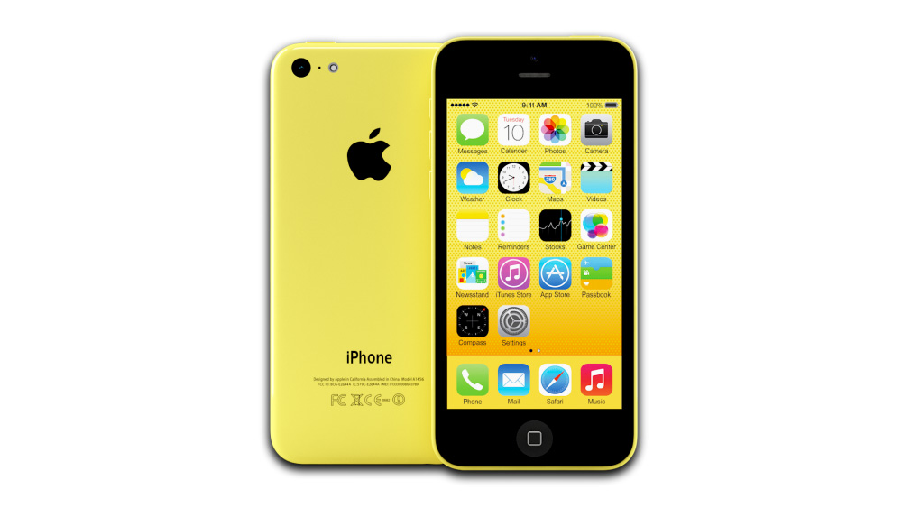 Apple iPhone 5c (Yellow)
