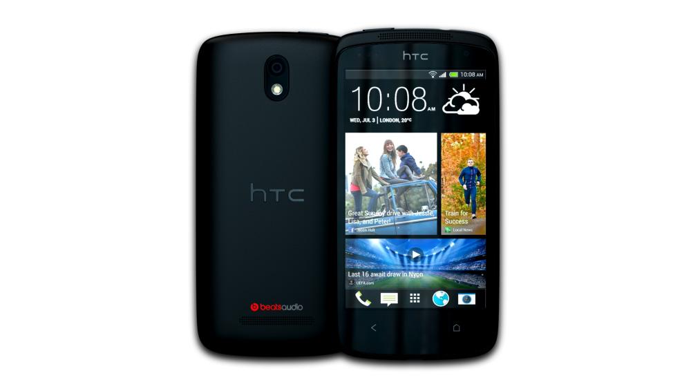 HTC Desire 500 (Lacquer Black)