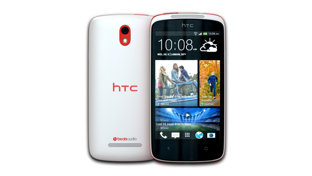 HTC Desire 500 (Passion Red)