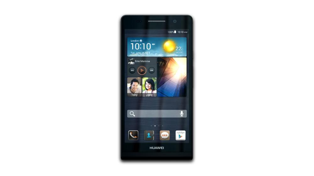 Huawei Ascend P6 (Black) - 3D Models