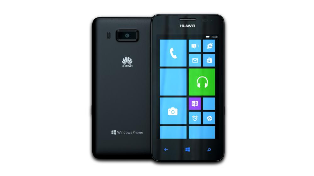 Huawei Ascend W2 (Black)