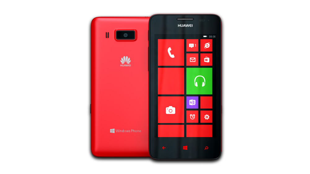 Huawei Ascend W2 (Red)