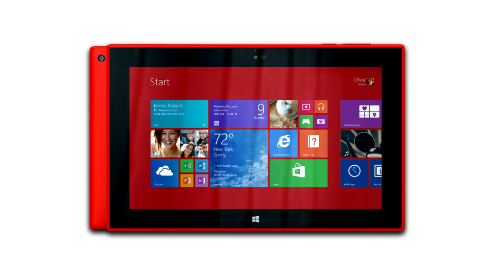 Nokia Lumia 2520 (Red)