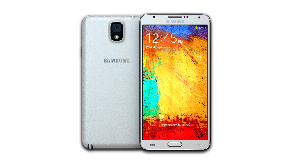 Samsung Galaxy Note 3 (Classic White)