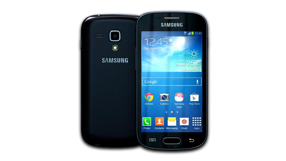 Samsung Galaxy S Duos 2 (Black)