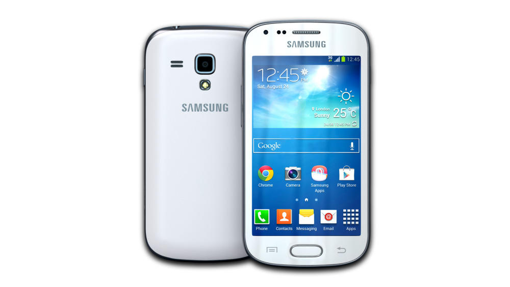 Samsung Galaxy S Duos 2 (Pure White)