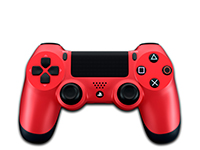 Sony Dualshock 4 (Magma Red)