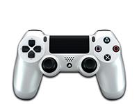 Sony Dualshock 4 (Silver)