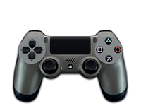 Sony Dualshock 4 (Steel Black)