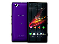 Sony Xperia M (Purple)